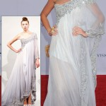 Blake Lively soft blue Marchesa dress BAFTA Brits to watch