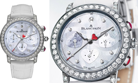 Blancpain Special edition watch Saint Valentin Chronograph