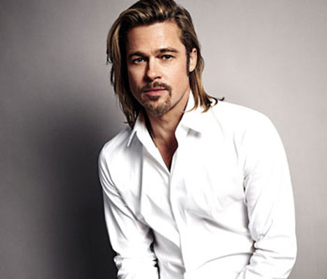 Brad Pitt Chanel No 5 campaign picture by Sam Taylor Wood
