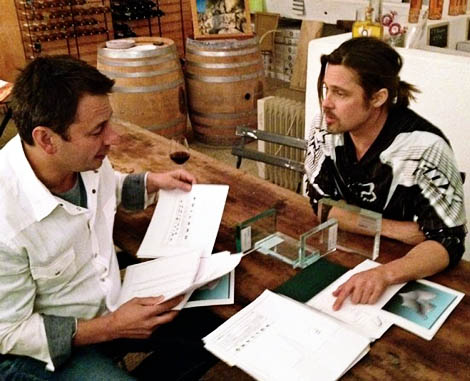 Brad Pitt Furniture: Would You Buy A $45,000 Chair?