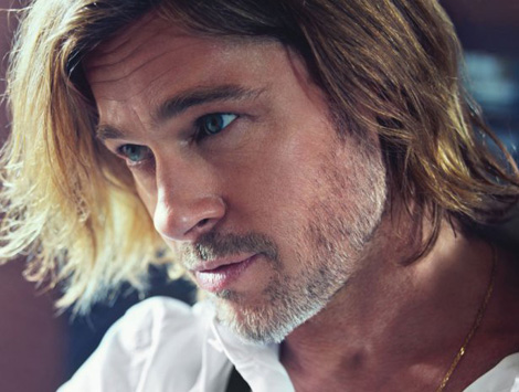 Brad Pitt photographed in W Magazine February 2012