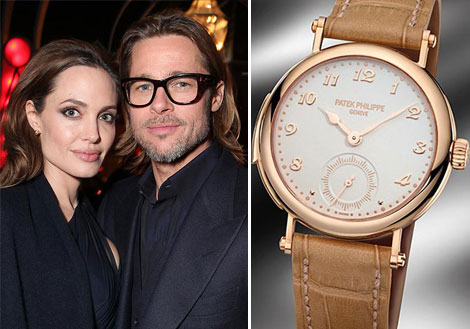 Brad Pitt s gift for Angelina