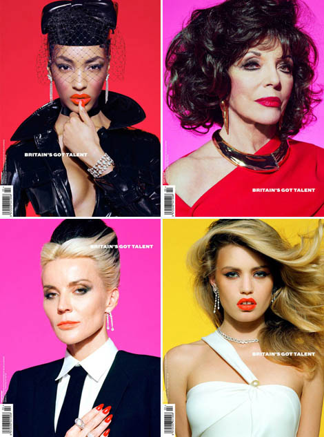 Jourdan Dunn, Georgia May Jagger, Daphne Guinness & More Do Ponystep