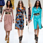 Burberry Spring Summer 2012 collection