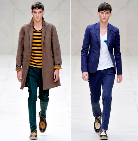 Burberry Spring Summer 2012 collection men