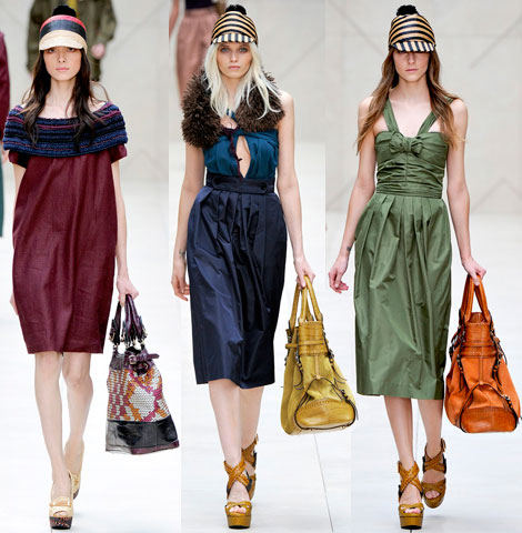 Burberry Spring  Summer 2012