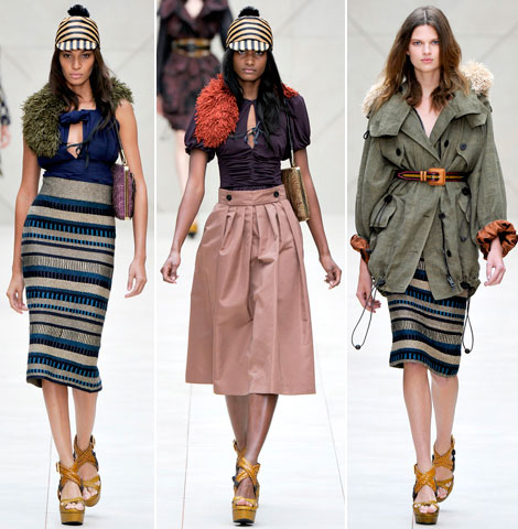 Burberry Summer 2012