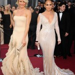 Cameron Diaz gucci pale dress Jennifer Lopez Zuhair Murad sheer dress 2012 Oscars