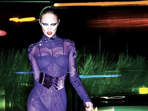 Candice Swanepoel Tom Ford FW 11 12 ad campaign