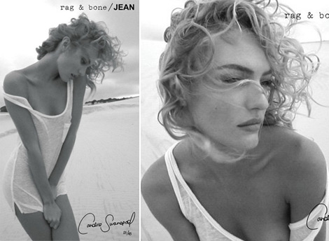 Candice Swanepoel&#8217;s Hair Is Naturally Curly
