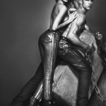 Candice Swanepoel racy Versace Fall 2012 ad campaign