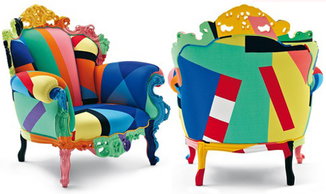 Cappellini Proust Geometrica Armchair colorful home addition