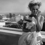 Carey Mulligan W Magazine January 2012 terrace