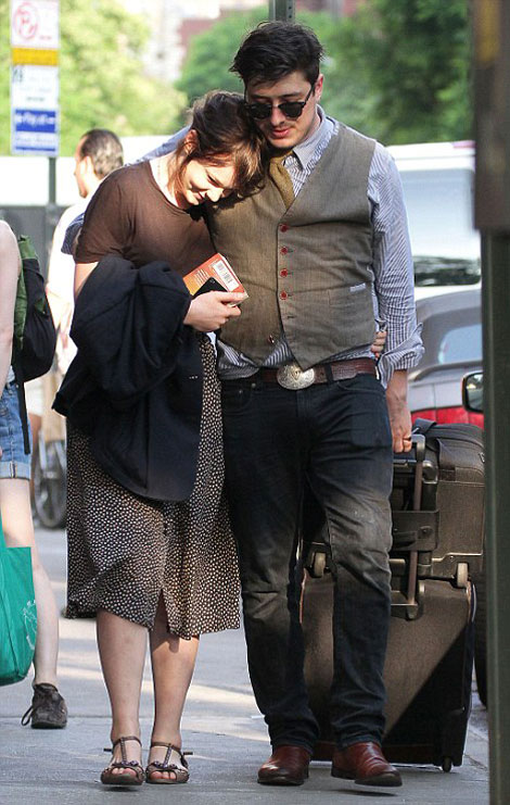 Carey Mulligan with husband Marcus Mumford