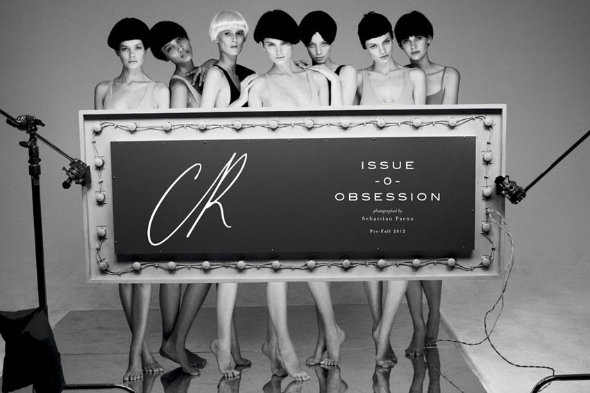 CR, Carine Roitfeld's Magazine First Issue, Fall Winter 2012