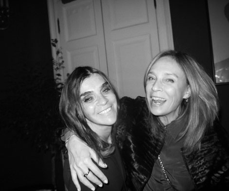Carine Roitfeld's BFF Aliona Doletskaya. What Are They Up To?