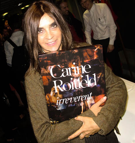 Carine Roitfeld s Irreverent book