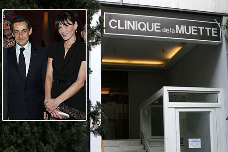 Carla Bruni Sarkozy Gave Birth To A Baby Girl!