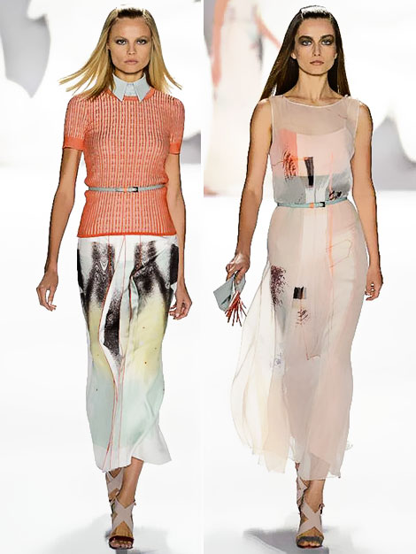 Carolina Herrera Spring Summer 2013 collection