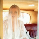 Caroline Trentini s wedding dress veil