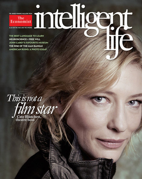 Cate Blanchett Without Makeup And Without Photoshop Magazine Cover