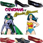 Catwoman Wonder Woman shoes Andre