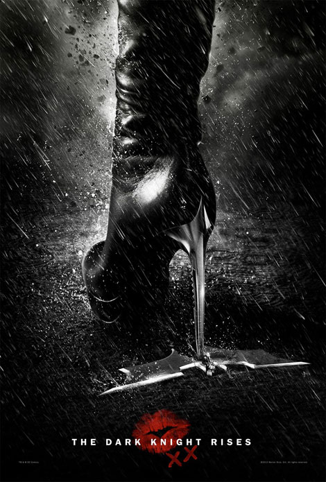 Catwoman s boots poster The Dark Knight Rises
