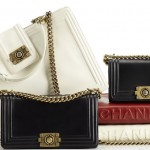 Chanel Boy Bag Collection white red black