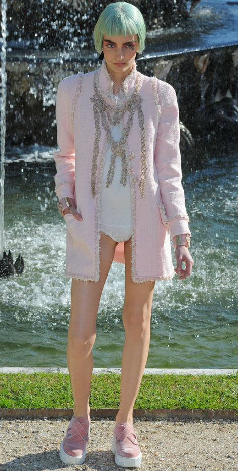 Chanel Resort 2013 Collection, Versailles Eye Candy