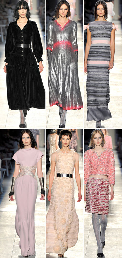 Chanel Haute Couture Fall 2012 Collection: Dusty Fashion