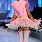Chanel Iman Victoria s Secret 2011 Fashion Show ballet