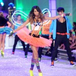 Chanel Iman Victoria s Secret 2011 pink