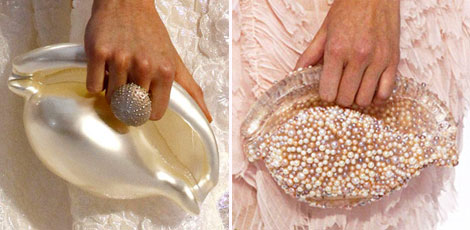 Chanel Spring 2012 clutches