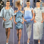 Chanel Couture Spring 2012 blue collection