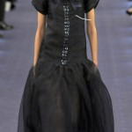 Chanel Couture Spring 2012 collection Anja Rubik