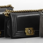 Chanel new bags collection Boy Bags black gray