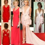 Charlize Theron Stacy Kleiber Golden Globes replica dresses