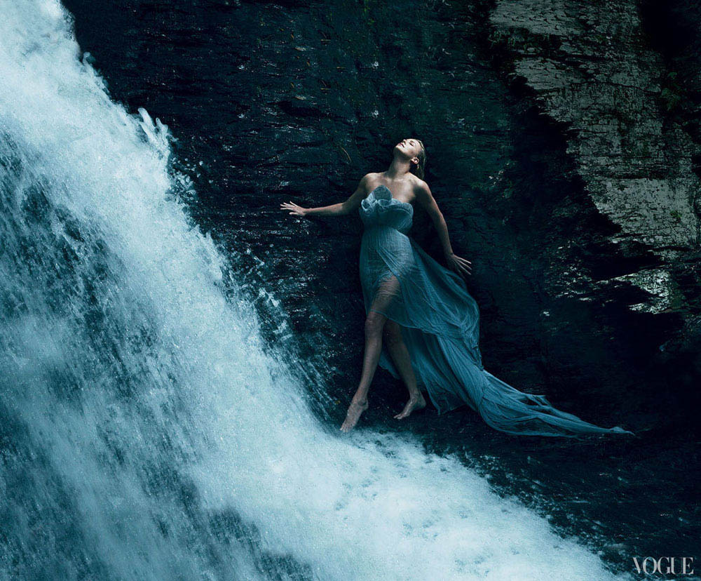 Charlize Theron's Vogue US December 2011