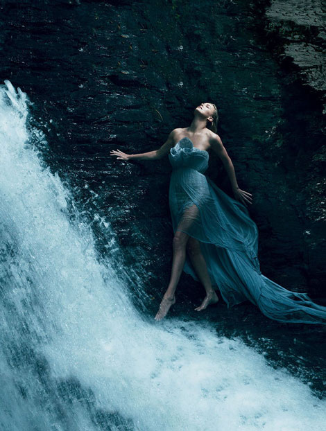 Charlize Theron Vogue US December 2011
