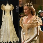 Charlize Theron costume from Snow White movie designed by Colleen Atwood