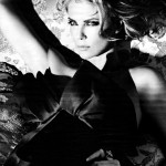 Charlize Theron seductress for W