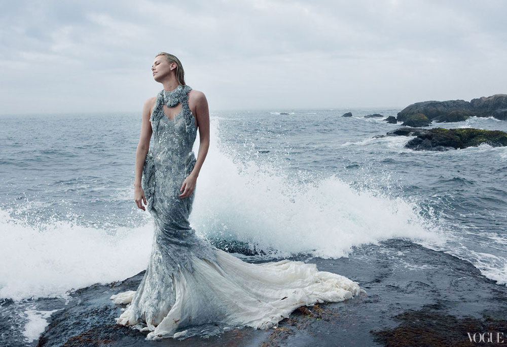 Charlize Theron stunning photo for Vogue