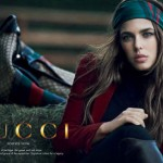 Charlotte Casiraghi Gucci Forever Now 2012 ad campaign