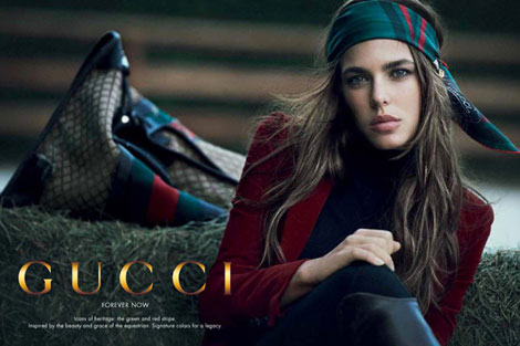 Charlotte Casiraghi Loves Gucci Forever Now