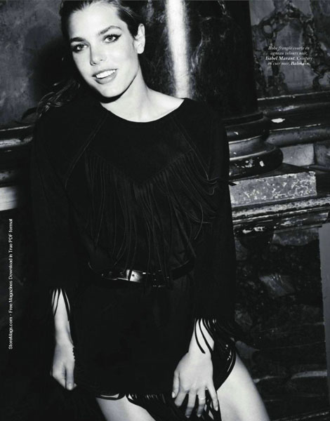 Charlotte Casiraghi Vogue Paris September 2011