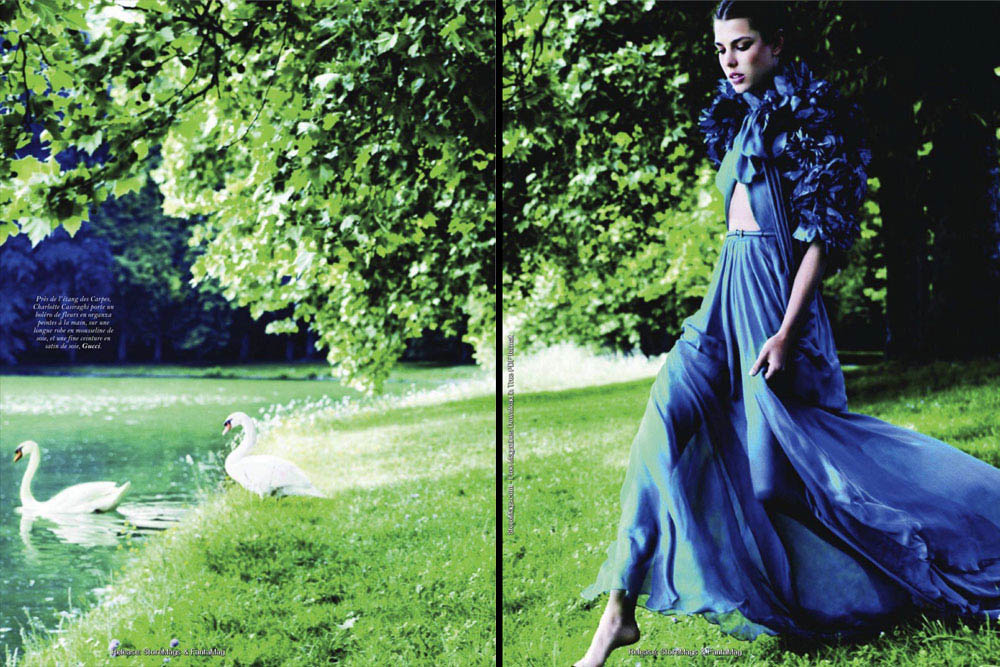 Charlotte Casiraghi Vogue September 11