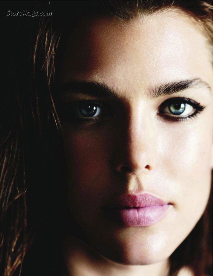 Charlotte Casiraghi beautiful face Vogue