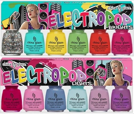 China Glaze Goes Pop With Electrifying Nail Polish Collection Spring 2012