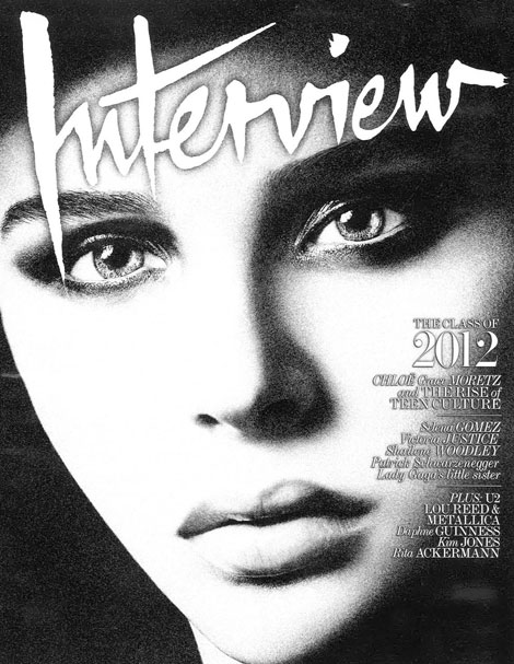 Chloe Moretz Interview November 2011 cover