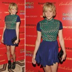 Chloe Sevigny s new hairstyle for movie premiere
